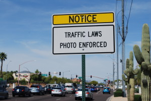 Roadway Electric Red Light Camera